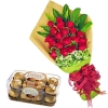online roses with chocolates to dhaka