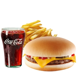 send burger king cheeseburger meal to dhaka city