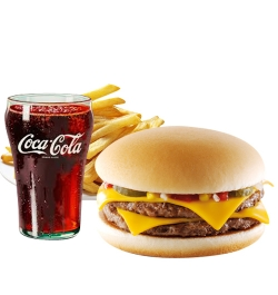 send burger king double cheeseburger meal to dhaka city