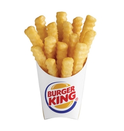send burger king french fries medium size to dhaka city