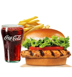 send burger king tendergrill meal to dhaka city