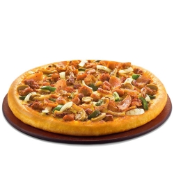 pizza hut chicken pizza family bbq