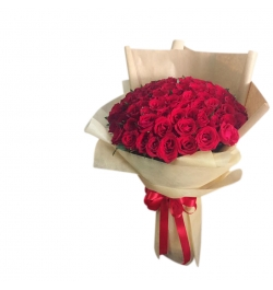 send 50 roses bouquet with fillers to bangladesh