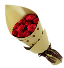send 12 red roses bouquet to dhaka