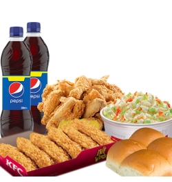 send kfc meal for 6 person to dhaka