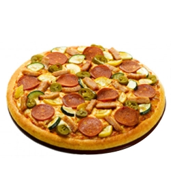 pizza hut chicken exotica pizza family