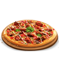 pizza hut red n hot pizza family