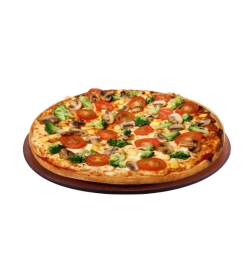 pizza hut veggie lover pizza medium