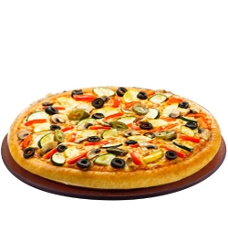 pizza hut veggie supreme pizza family