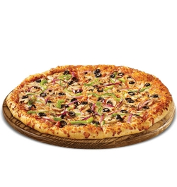 pizza inn veggie supreme pizza family