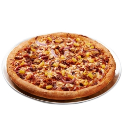 pizza inn bbq chicken classic pizza family