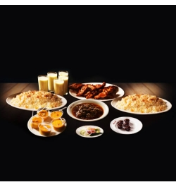 send sultans dine 1 person plain polao platter to dhaka