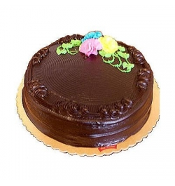 Send 2.2 Pounds Chocolate Round Shape Cake By Yummy Yummy to Dhaka in Bangladesh