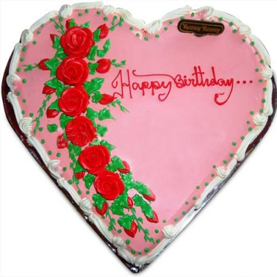 Send heart shape yummy cake to dhaka bangladesh