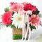 Send 9 Pcs. Mixed Color Gerberas in Vase to Bangladesh