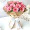 Send 12 Pcs. Pink Color Gerberas in Bouquet to Bangladesh